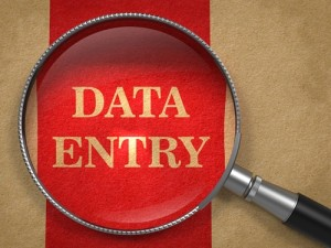 Data entry is a prime candidate for simpler solutions.