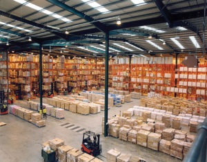 modern warehouse inventory
